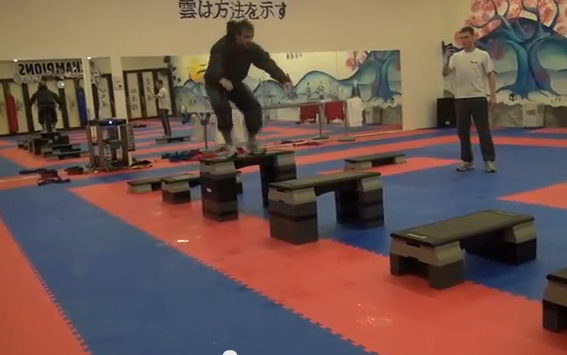 Champions training – Rafael Aghayev