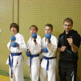 1. liga karate - 2. kolo - České Budějovice