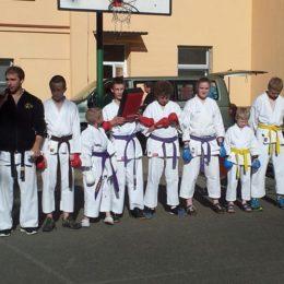 Ukázky karate v pardubicích